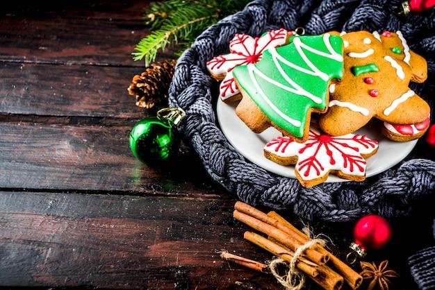 自家製ジンジャーブレッドクッキー