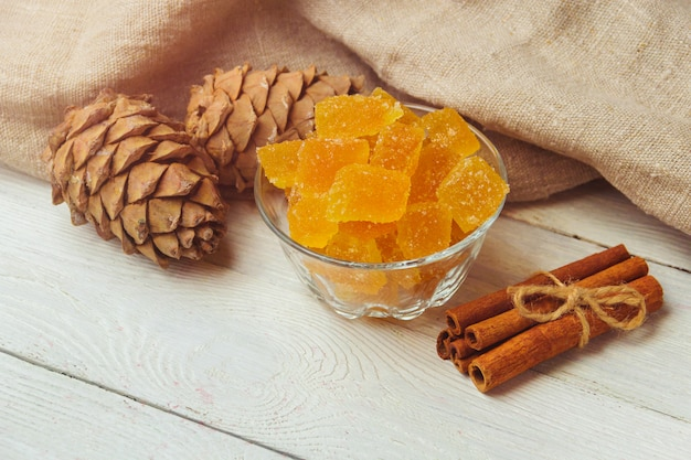 Homemade lemon marmalade