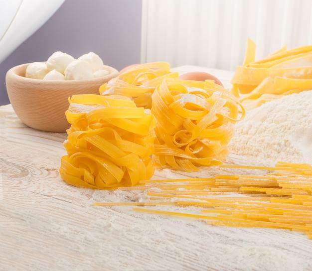 Приготовление домашней пасты
