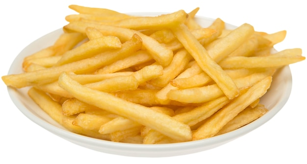 Homemade pile of appetizing french fries