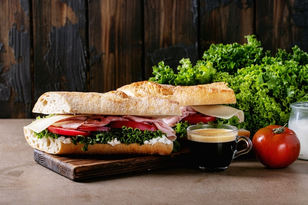 Homemade sandwich