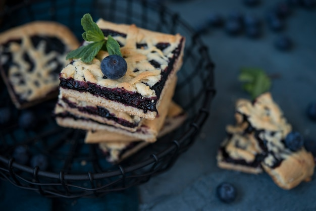 自家製ショートブレッド、ジャム、伝統的なオーストリアのクッキー