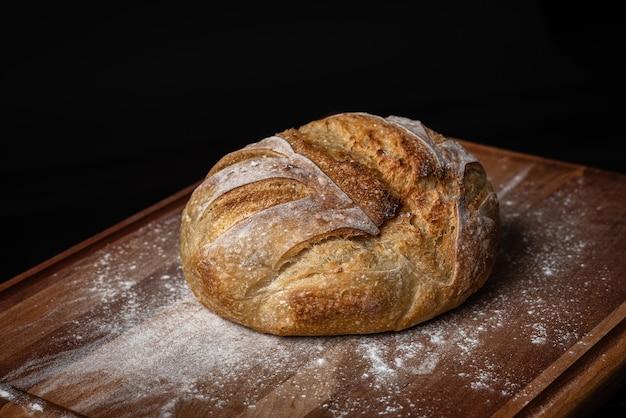 수제 사워 도우 빵 무료 사진