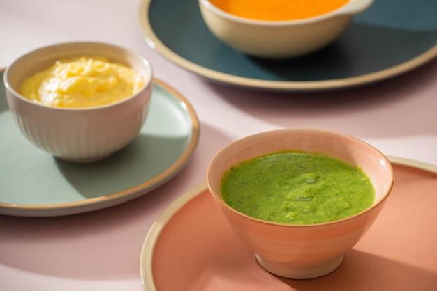 Домашние овощные пюре детского питания в стеклянных банках