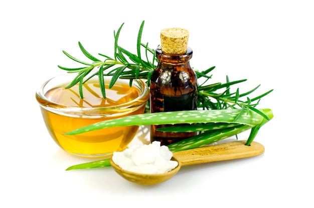 Homeopathy remedy recipe on white background.