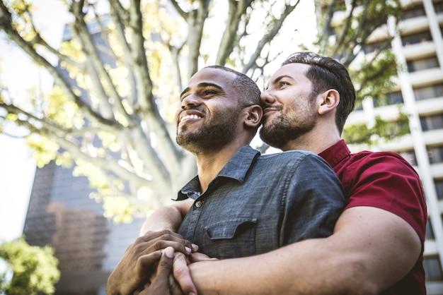 同性愛カップルのデート