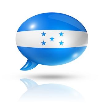 Гондурас флаг речевой пузырь