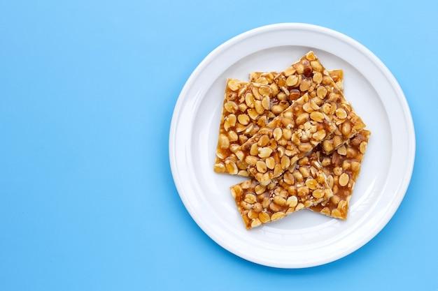 青にピーナッツのハニーバー