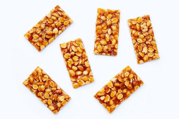 Медовые батончики с арахисом