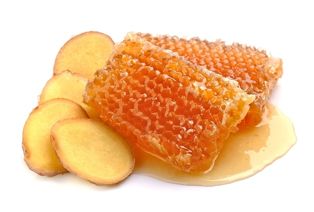 Медовые соты с корнем имбиря