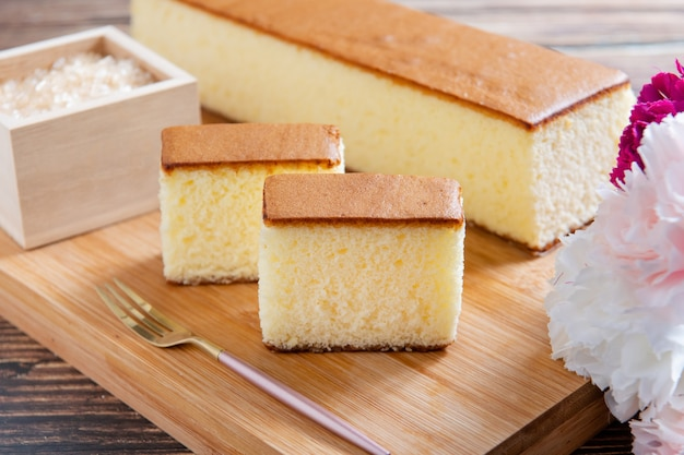 허니 스폰지 케이크 일본 과자 허니 카스텔라 케이크 일본 스폰지 케이크