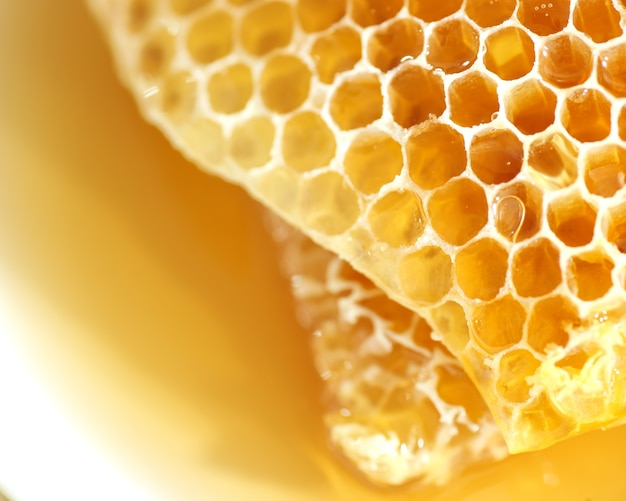 Honeycomb, healthy products by organic natural ingredients