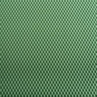 ハニカムテクスチャ。緑の幾何学的な抽象的な背景。テンプレート。