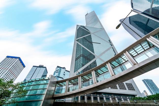 Hong kong commercial building skyscraper
