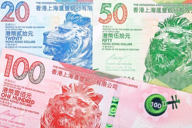 Hong kong dollar banknotes