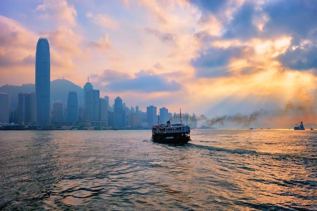 홍콩 스카이 라인 홍콩 중국