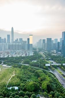 Hong kong traffic view