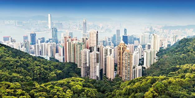 Hong kong victoria harbor