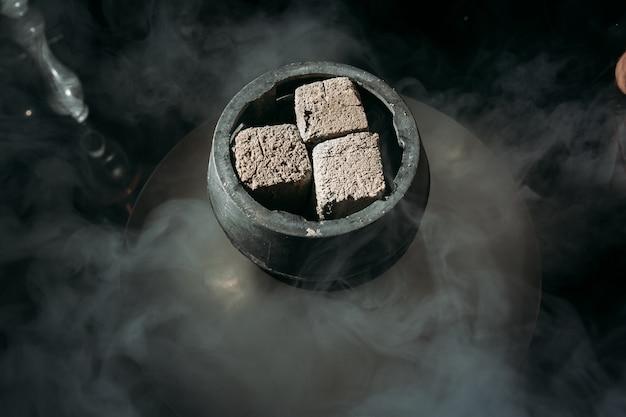 Hookah flavor tobacco with hookah bowl