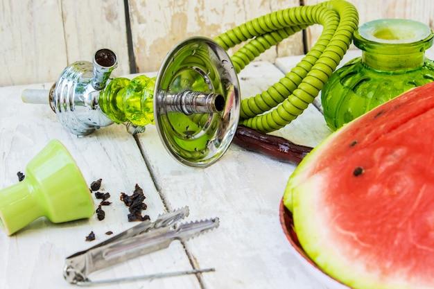Hookah. tobacco aroma of watermelon.