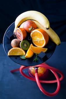 Hookah with fruit