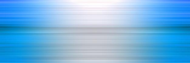 水平方向の抽象的なスタイリッシュな白と青の線の背景