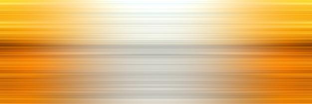 デザインのための水平抽象的なスタイリッシュな黄色の線の背景