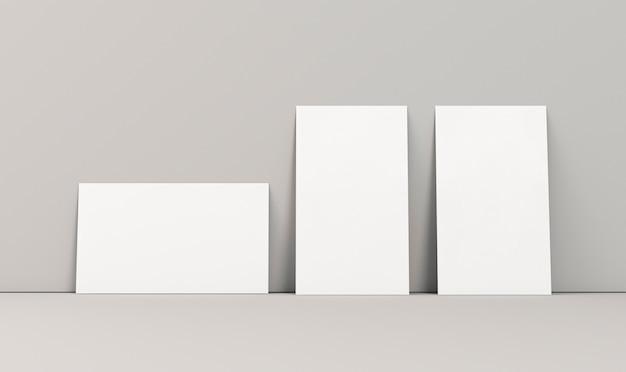 Горизонтальное и вертикальное расположение визиток
