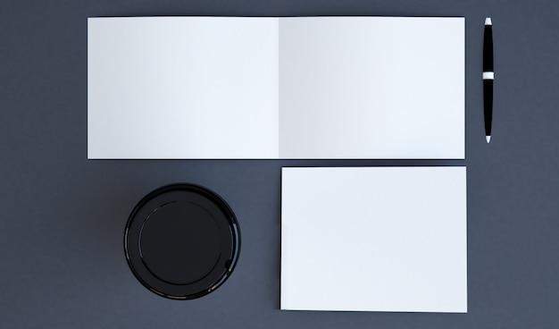 Горизонтальная брошюра