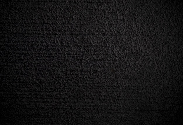 Horizontal scratch pattern on black color paint of concrete floor