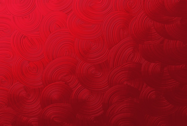 Horizontal texture of abstract red spiral background