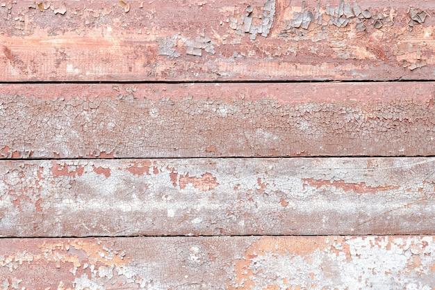 水平ヴィンテージボード赤灰色の色合い