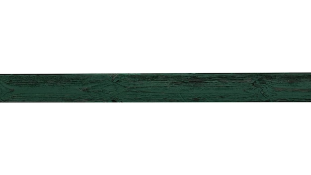 Horizontal wooden plank isolated on white background. high quality photo
