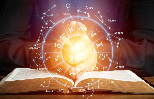 星占い占星術干支星座星座フォーチュンサイン神話星のシンボル、伝統的な