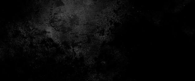 Ужас цементной текстуры. гранж страшный фон. стена бетон старый черный