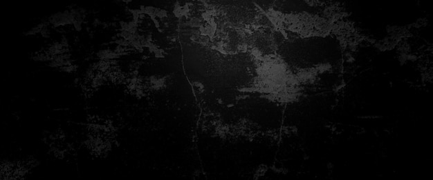 Horror cement texture. grunge scary background. wall concrete old black