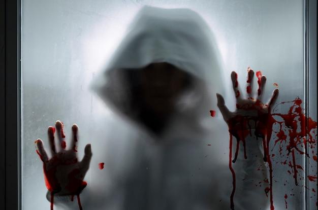 Сцена фильма ужасов
