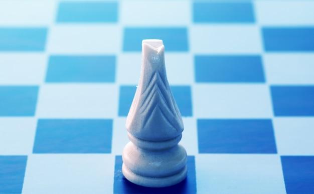チェス盤で馬
