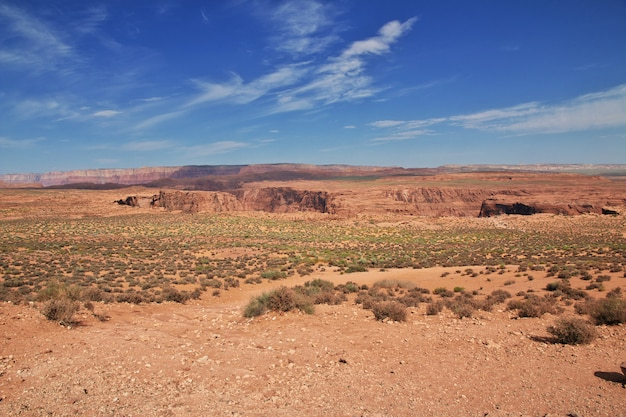 Horseshoe colorado in arizona, usa
