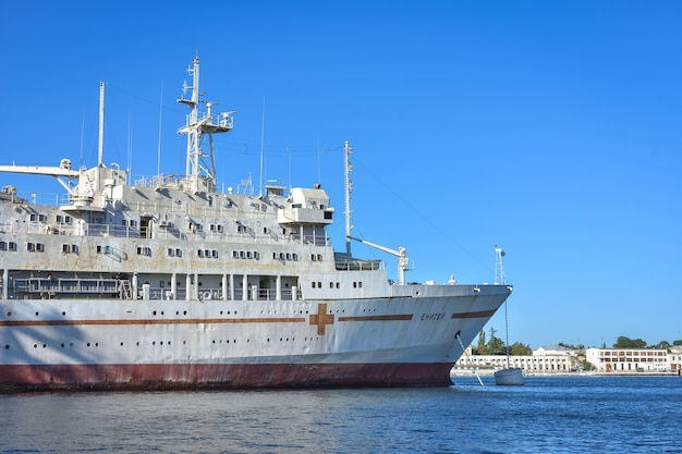 Hospital ship yenisei, black sea fleet