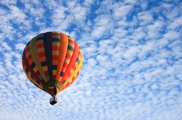 空の熱気球