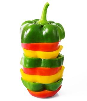 Hot cut pepper