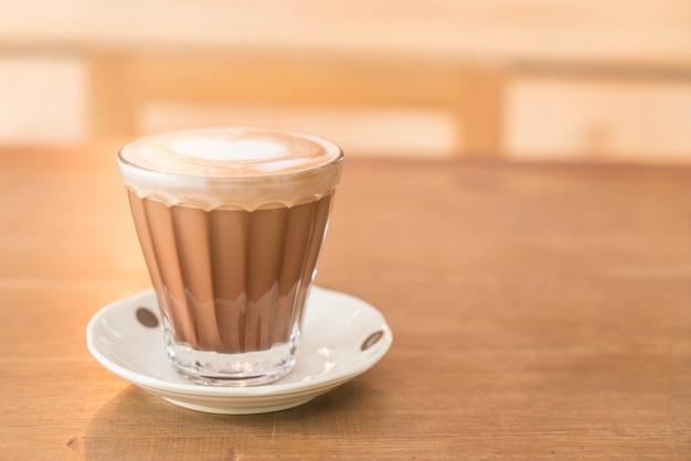 Hot mocha coffee