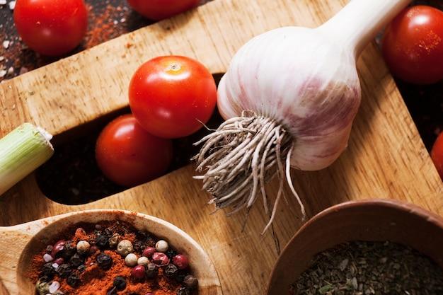 뜨거운 향신료. 요리 요리법.