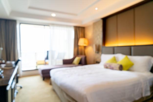 ホテルの寝室のインテリア