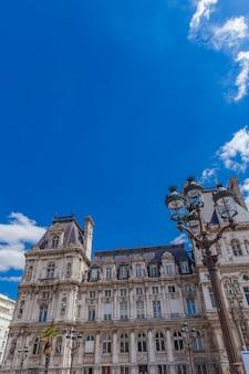 パリのhotel de ville(city hall)