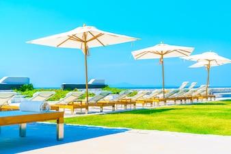 Hotel pool resort