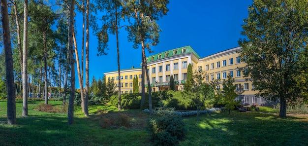 Hotel in sofiyivka park, ukraine