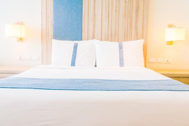 Hotel textile comfort luxury interior