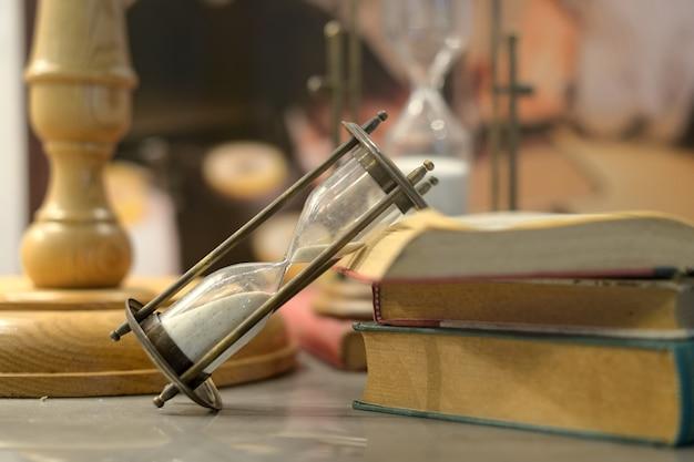 Hourglass add  book